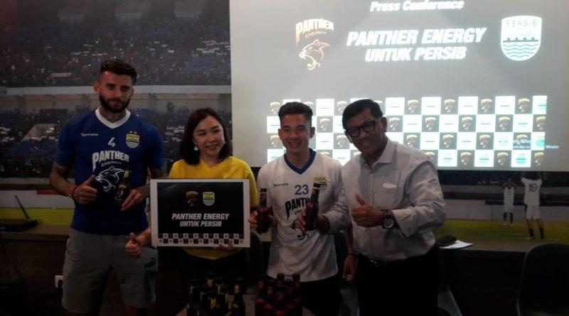 Panther Energy Kembali Sponsori Jersey Latihan Persib