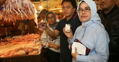 Sidak RPH dan Pasar Ciroyom, Solihin Pastikan Harga Kepokmas Stabil