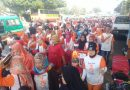 HUT RI dan Sambut Asian Games, Karta Budhi Wibawa Unit RW 01Gelar Jalan Sehat