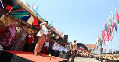 45 Bendera Peserta Asian Games Berkibar di Bandung