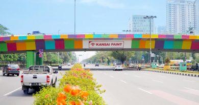 Sambut ASIAN GAMES, Jakarta Lebih Berwarna