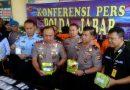 Direktorat Reserse Narkoba Polda Jabar Ungkap Peredaran Narkoba