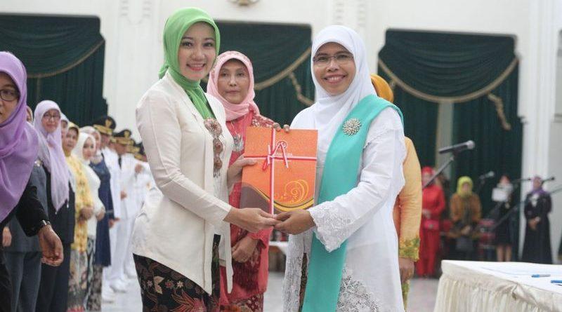 Siti Muntamah Resmi Jabat Ketua TP PKK dan Ketua Dekranasda Kota Bandung