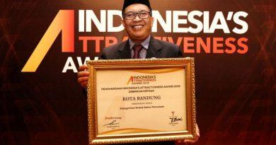 Kota Bandung Raih Penghargaan Kota Terbaik Pariwisata 2018