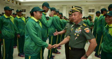 Kasad : Piala Panglima TNI 2018 Ajang Unjuk Prestasi dan Momen Tingkatkan Soliditas