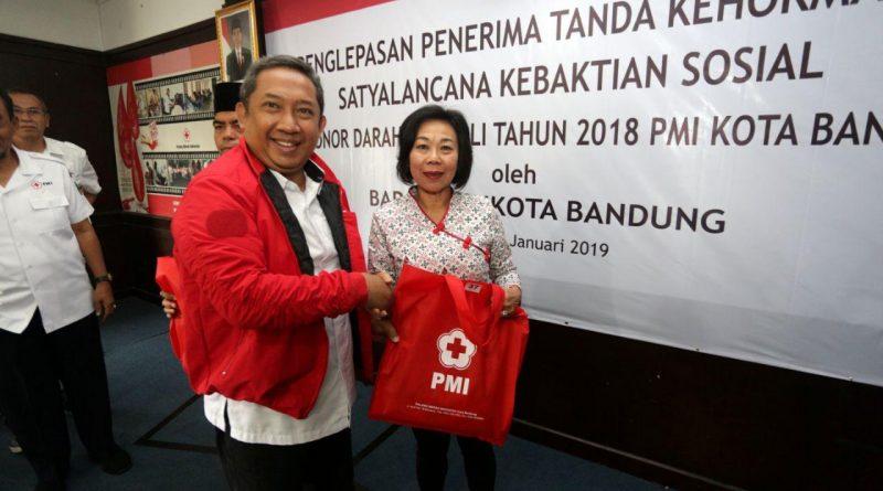 Wakil Walikota Bandung Apresiasi Pendonor Darah Sukarela